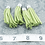 Thumbnail: Chartreuse Suede Silver-tone Tassel Large