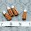 Thumbnail: Brown Suede Silvertone Tassel Small