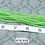 Thumbnail: Light Green Transparent Glass Faceted Rondelle Beads 3mm