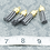 Thumbnail: Dark Gray Suede Gold-tone Tassel Small