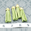 Thumbnail: Chartreuse Suede Gold-tone Tassel Large
