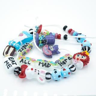 Alice in Wonderland Bead Set