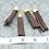 Thumbnail: Brown Suede Gold-tone Tassel Large