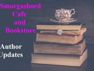 Smorgasbord Cafe and Bookstore – Author Updates #Reviews – #Thriller Mark Bierman, #Adventure Audrey