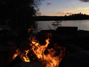 A Fireside Tanka