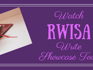 "Welcome To The WATCH ""RWISA"" WRITE Showcase Tour! #RRBC #RWISA With Bernard Foong."