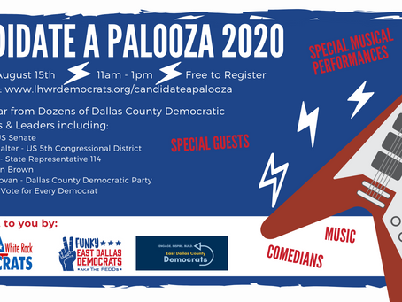 Hear from Dozens of Democratic Candidates at Candidate a Palooza 2020!