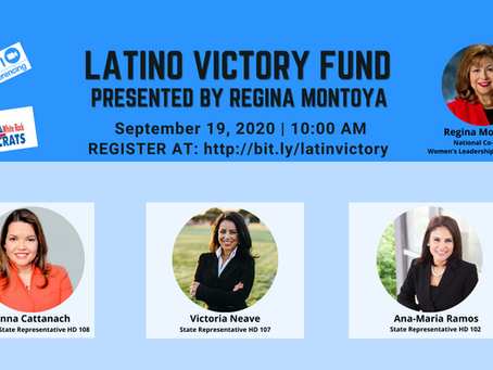 Latino Victory Fund - Next Meeting 9/19 at 10AM