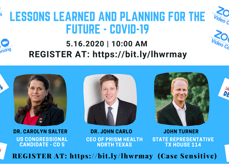 COVID-19 Lessons Learned and Planning for the Future