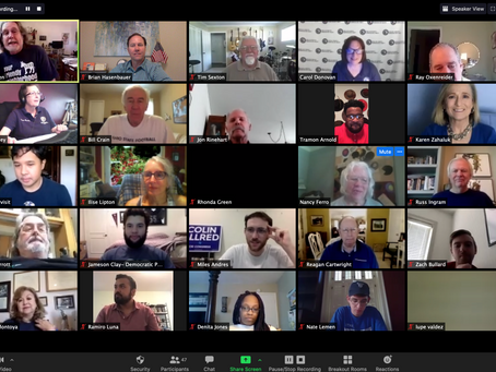 July 2020 Meeting Recording - It's Go Time Democrats!