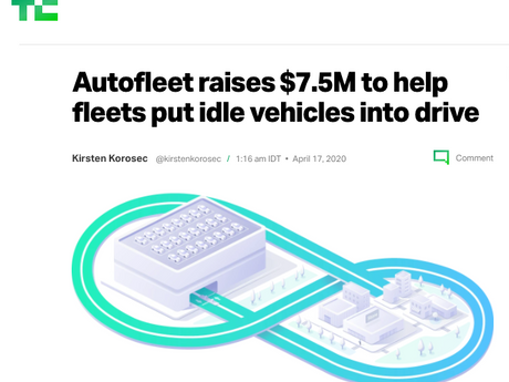 Autofleet raises $7.5M in seed and Series A funding