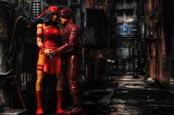 Valentines Guy - Daredevil & Electra