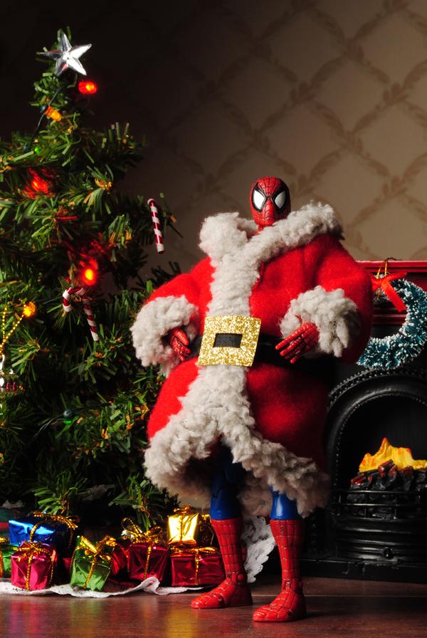Christmas Guys - Spidey Claus