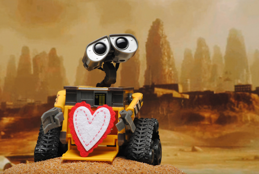 Valentines Guys - Wall-e