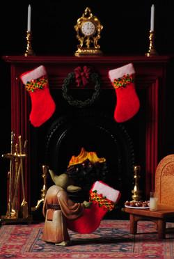 Christmas Guys - Yoda Stocking
