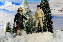 Leia & Han - Winter Walk e