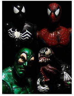 M - quad - Spider-man