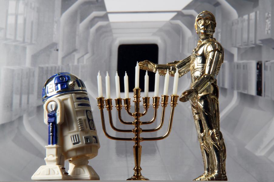 Christmas Guys - Hanukkah Droids