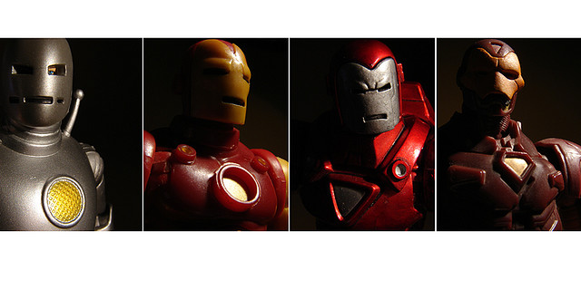 M - Iron Man - Evolutions