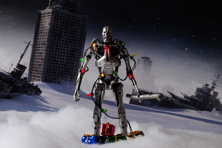 Christmas Guys - Terminator Tree