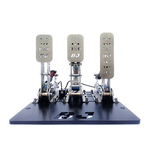 BJ GT Pedal set steel