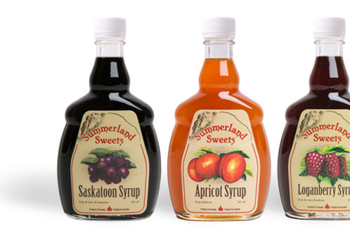 Summerland Sweets Fruit Syrups