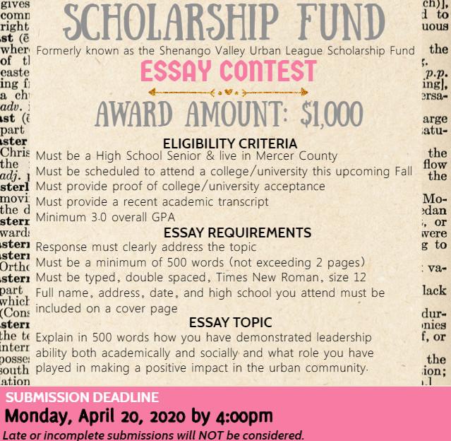 Scholarship essay contest flyer 2020.jpg