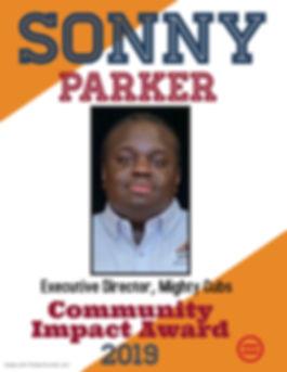 Sonny Parker_Community Impact Award 2019