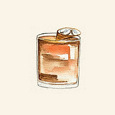 COCONUT-WASHED OLD FASHIONED