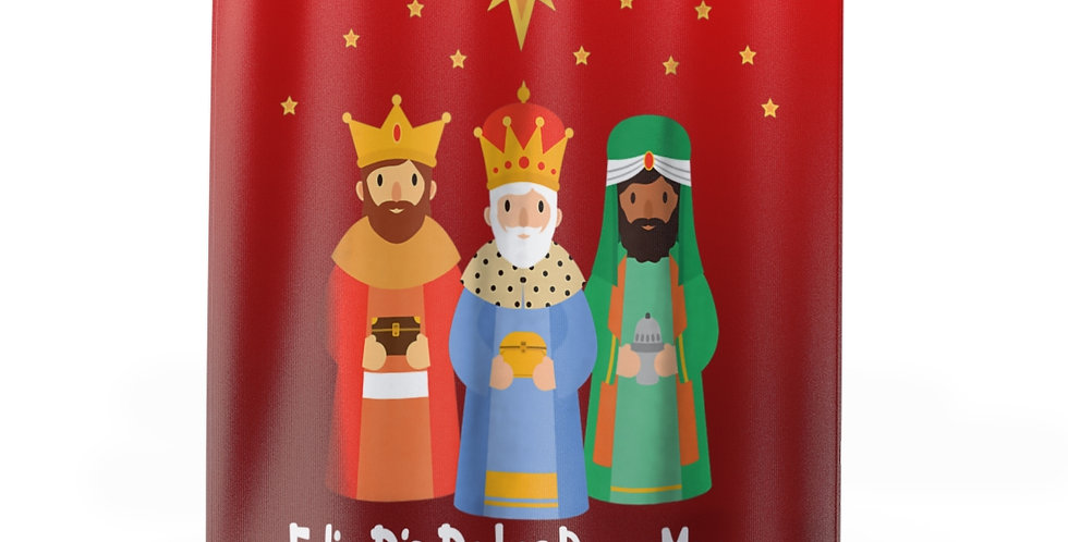 Coming Soon! Three Kings Red Shower Curtain