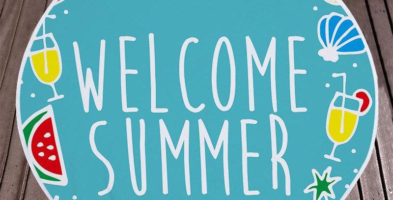 Welcome Summer Towel