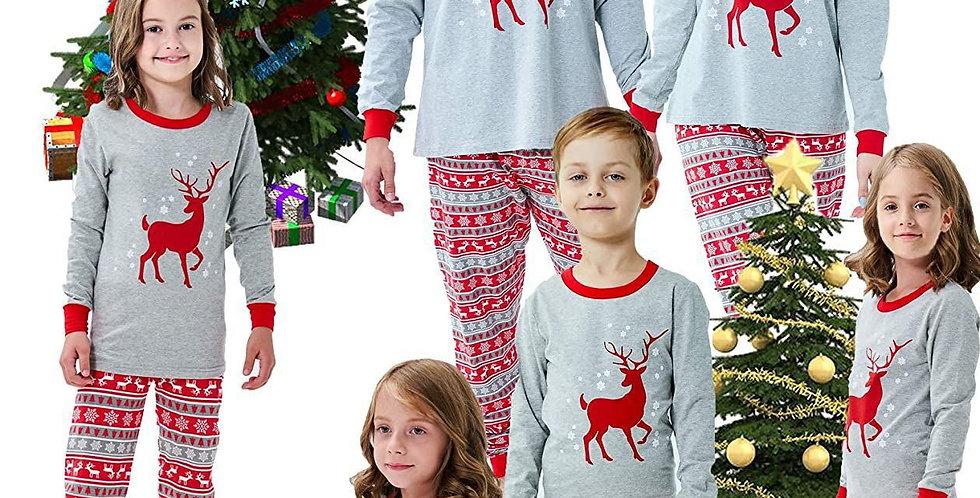 Red Deer Family Pajamas