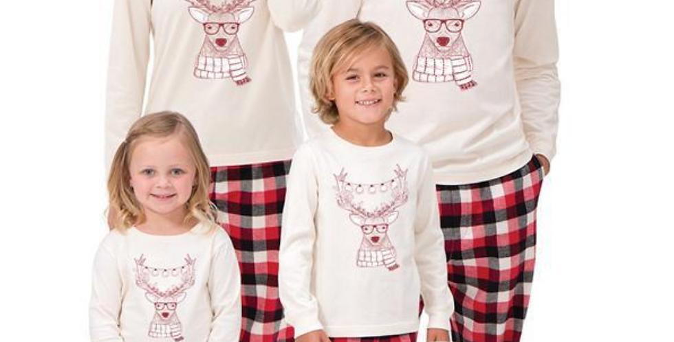 Final Sale White Shirt Reno Pajamas