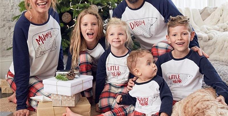 Bears Christmas Family Pajamas