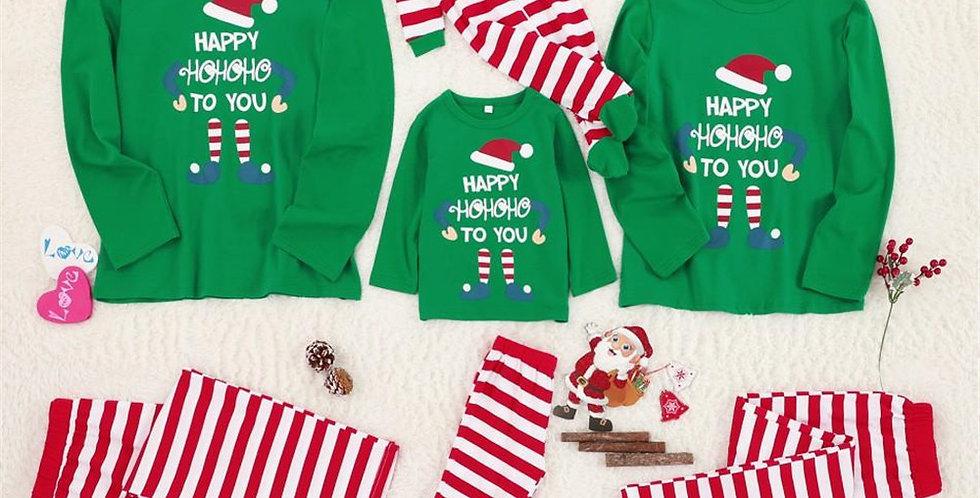 Final Sale Green Hoho Pajamas