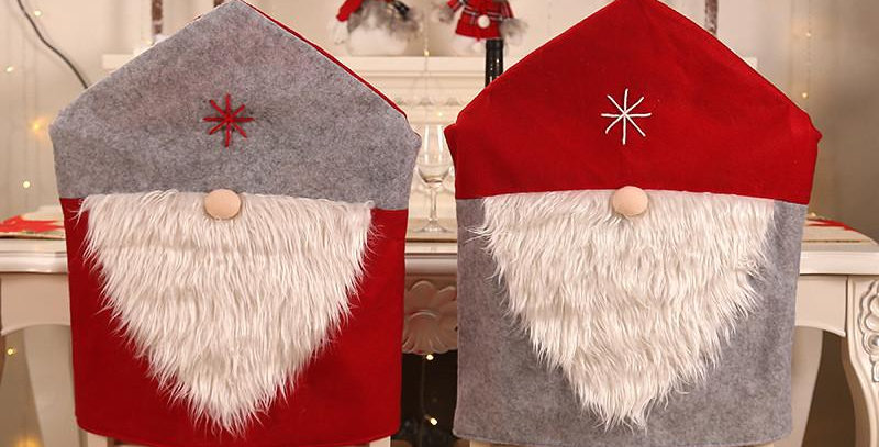 Gnomes Chair Covers with Stars
