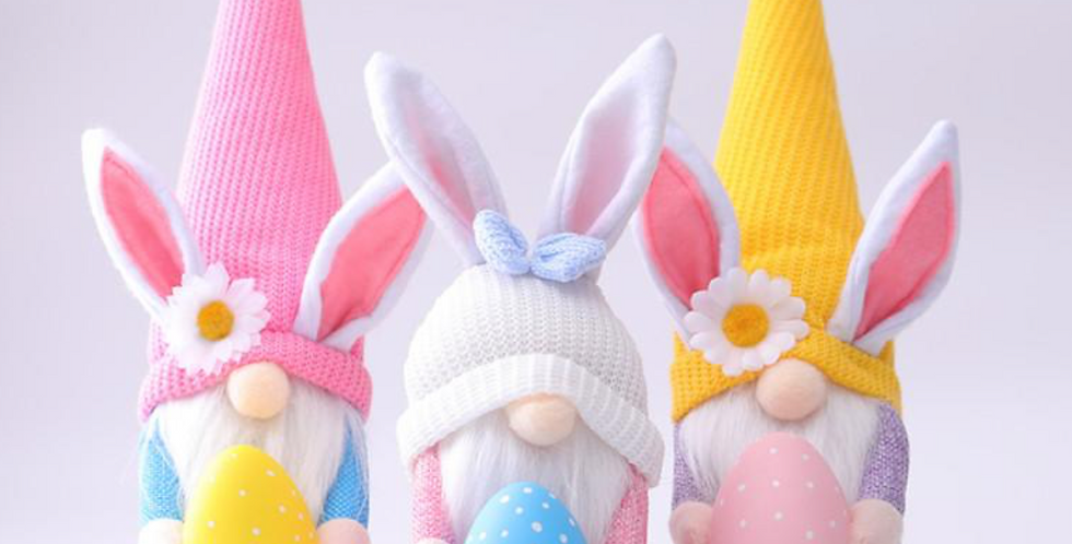 Easter Gnomes with Eggs