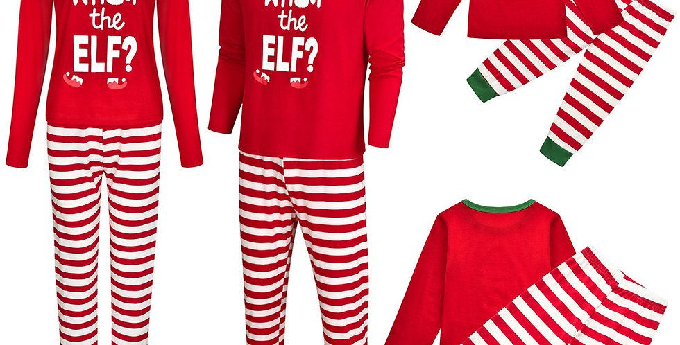Final Sale What The Elf Pajamas
