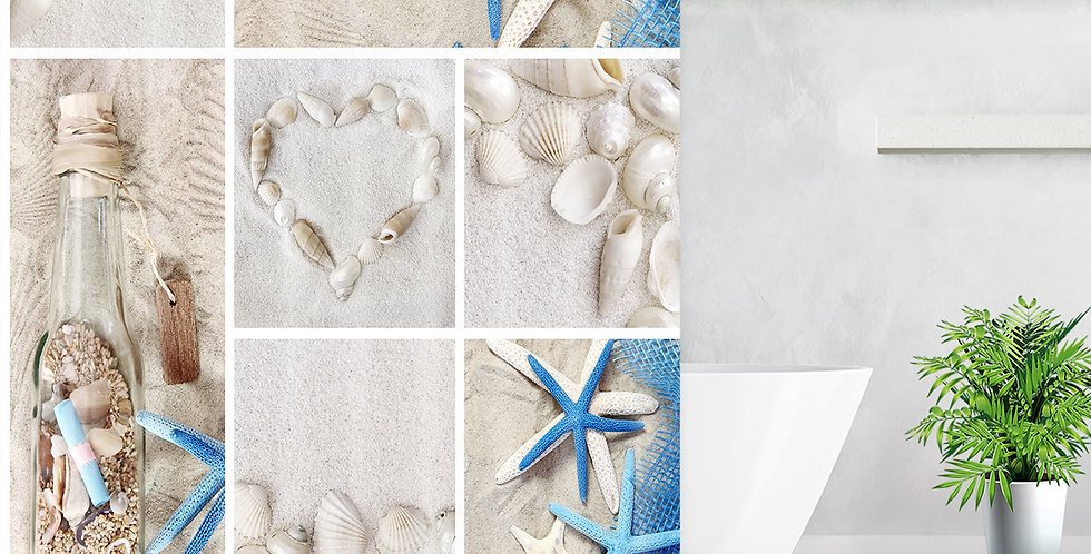 Sand Beach Shower Curtain