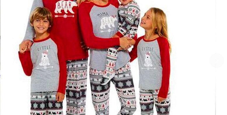 Bear Family Pajamas