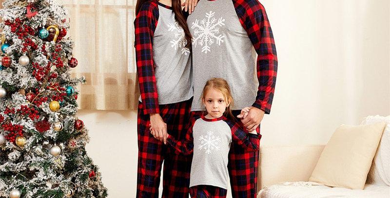 Snowflake Family Pajamas