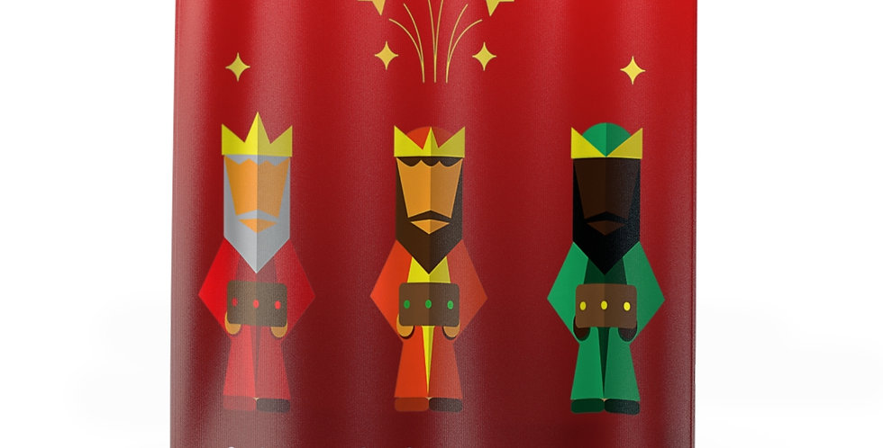 Coming Soon! Three Kings Abstract Shower Curtain