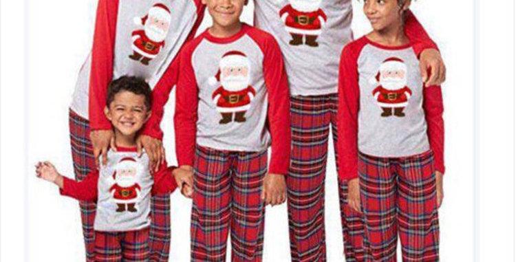 Santa Family Pajamas