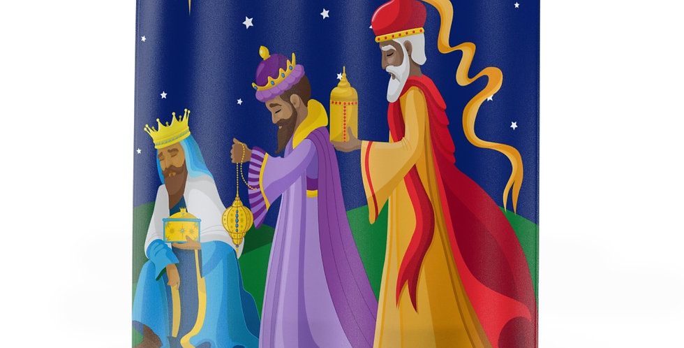Three Kings Shower Curtain