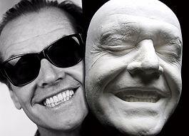 Слепок лица, копия лица из гипса