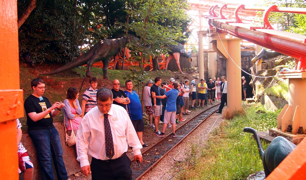 PB Express Track Walk