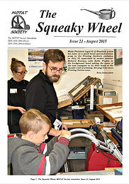 MOTAT Society The Squeaky Wheel Newsletter Issue 21, August 2015