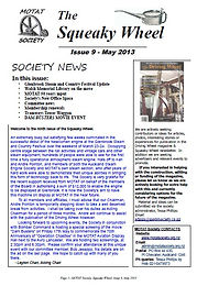 MOTAT Society The Squeaky Wheel Newsletter Issue 9, May 2013