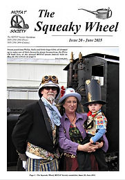 MOTAT Society Squeaky Wheel Newsletter Issue 20, June 2015