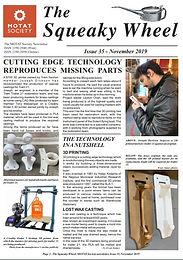 MOTAT Society Squeaky Wheel Newsletter Issue 35, November 2019